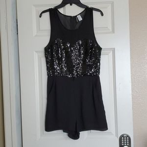 Beautiful and sparkling romper